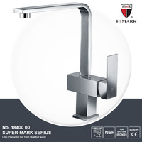 Modern single handle square kitchen faucet mixer tap