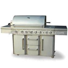 Luxury Stainless steel BBQ grill island total 96,000 BTU