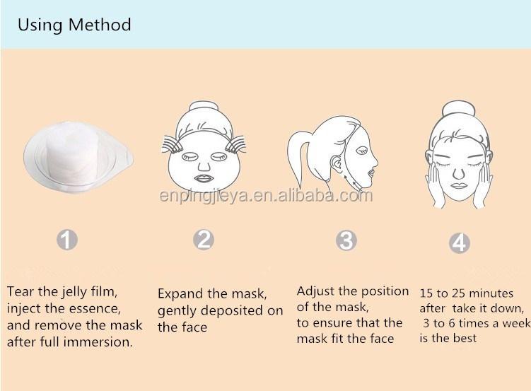 Alibaba Chine Fournisseur OEM cosmétique masque facial, en gros comprimé masque facial