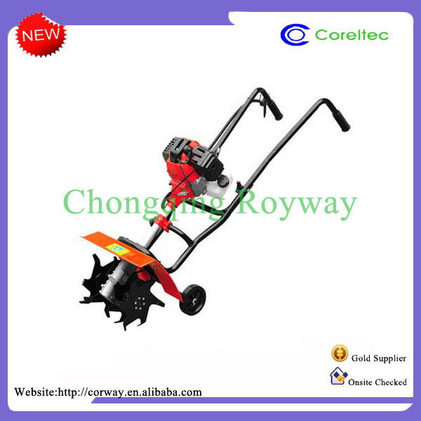 High Quality Gasoline 4HP 186F Rotary Mini Power Tiller