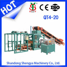 hollow block making machine,brick paving machines QT4-20