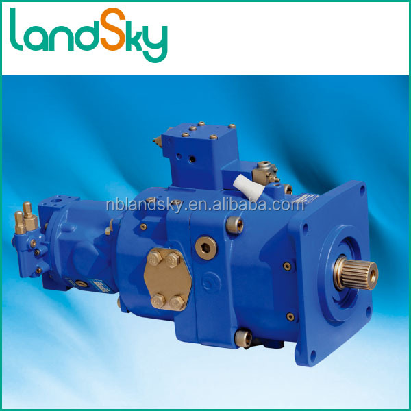LandSky Machinery equipment cast iron hagglunds hydraulic slew motor case drain
