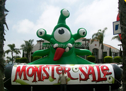 2016 hot sale giant inflatable monster sale for advertising