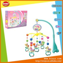 Newest Wind Up Baby Mobile With Music Plastic Bell Toy Child Musical Bells