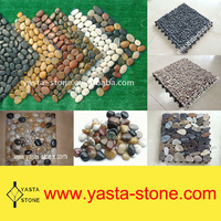Washed River Stone Tile Wall Pebble Decoration