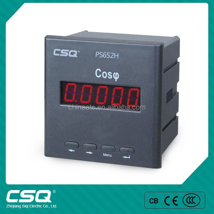 PS652H-9X1 Electrical Digital Energy Factor Meter LED Display