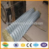 China manufacturer high quality galvanized PVC coated black vinyl coated chain link fence
