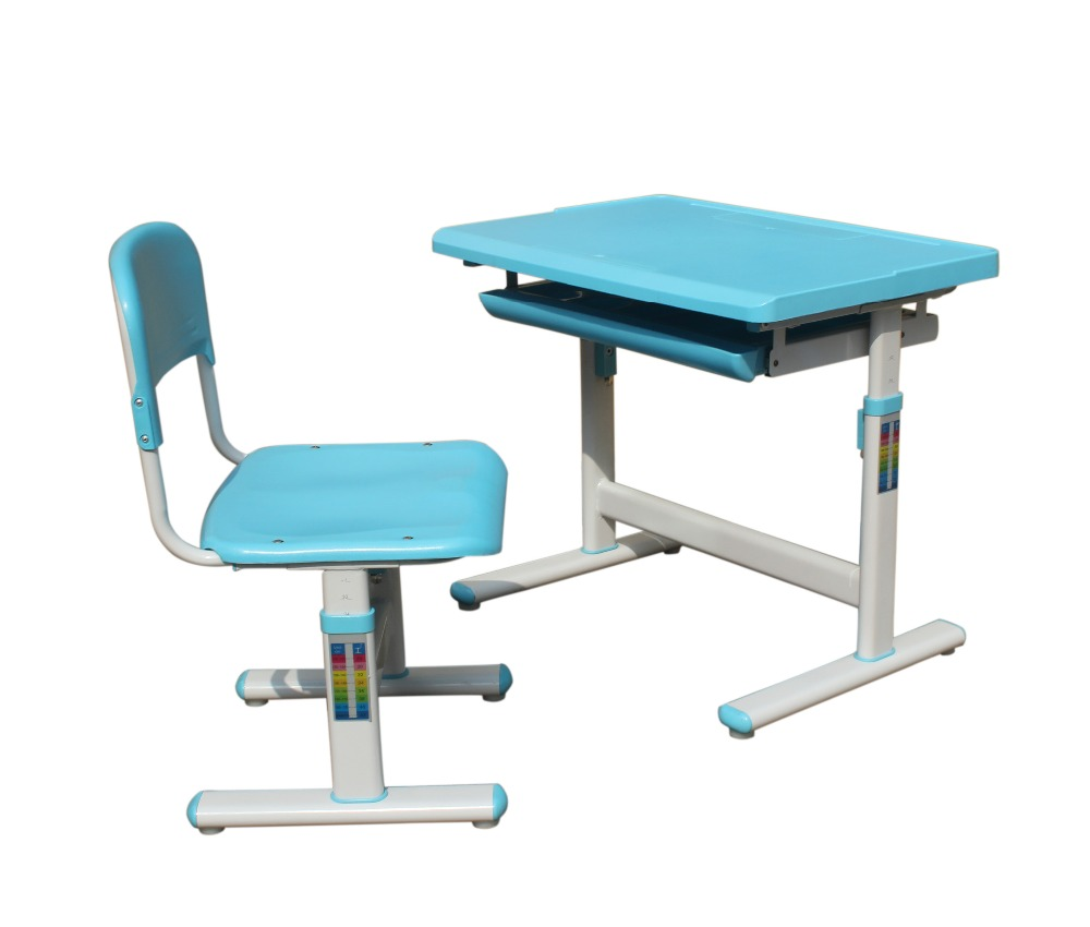 Kids school study table desk and chair