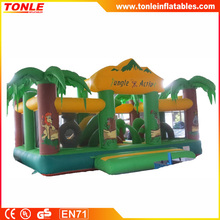 Jungle inflatable Activity Kingdom, giant inflatable playground, inflatable fun city