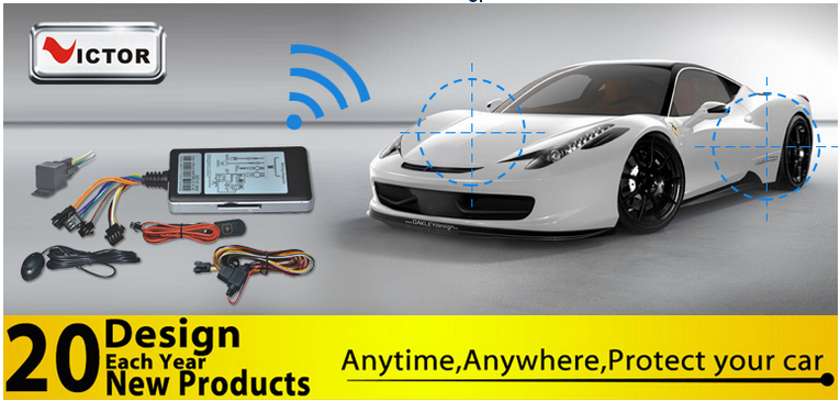 GPS tracker with GSM SIM card control