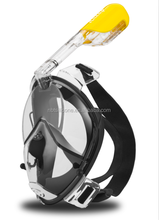 Full face diving mask set with GoPro Camera