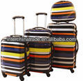 Luggage travel trolley fashion abs+pc