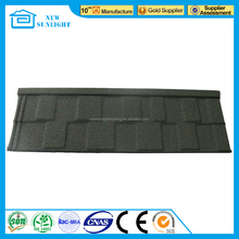 High Quality Decras Roof Tile Sand Coated Galvanized Steel Roof Tile for Building Material