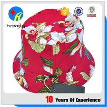 Custom Flowers Floral Printed Bucket Hats