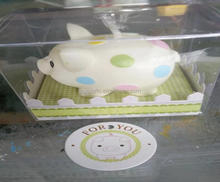 Baby Shower Gift Honey Pig Gift Candle