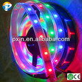2014 alibaba china advertising decoration ws2801 5050smd 32leds/m 10w/m IP67 warerproof flexible dream color led strip