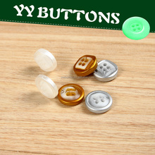 custom fluorescent color resin shirt button