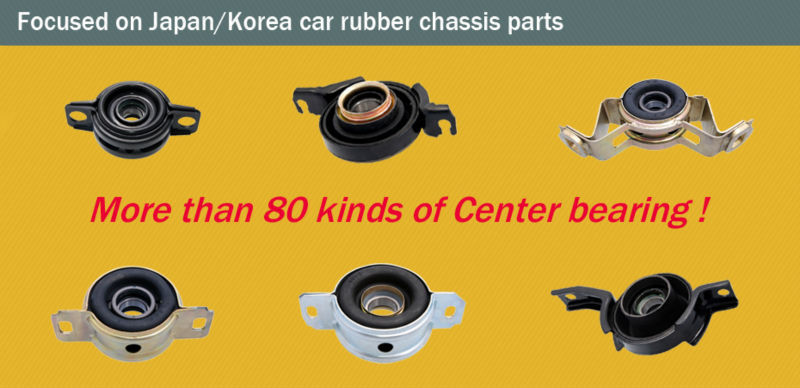 motorcycle engine parts adjustable suspernsion rubber bearings for korean cars