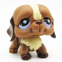 Cartoon style custom made small plastic dog figure