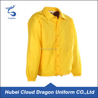 100 Polyester Yellow Security Guard Uniform