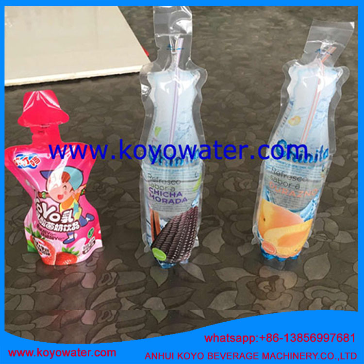 Anhui KOYO KY-8A filling sealing packaging machine for Juice bags stand up without spout flexible packaging