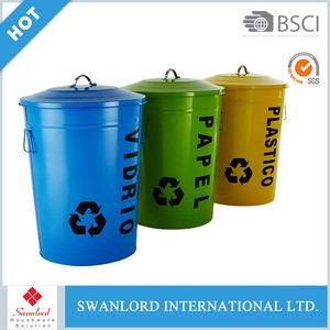 Indoor 24.5L recycling bin / kitchen eco-friendly waste bin