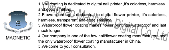 waterproof flower pre-coats for flower printer