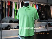 2012 basic cotton men's polo t shirt