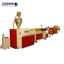 plastic hdpe pp pvc corrugated pipe hose duct making machine production line extrusion line