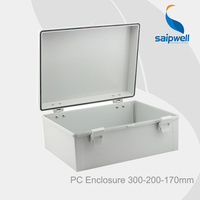 Saip/saipwell NEW IP66 plastic electrical control box 300*200*170mm