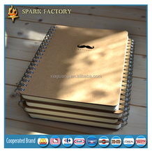 Eco recycled A4 A5 A6 wholesale custom spiral notebook