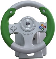 Game racing wheel controller for Xbox 360 and PC
