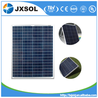 2016 Hot sale 80W polycrystalline solar panel/panel solar/PV modules price per watt from China factory directly