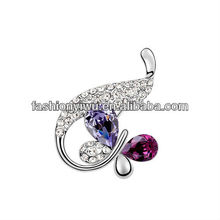 Butterfly Brooches Making Supplies In Bulk Austrian Crystal Brooch