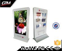 55 inch lcd advertising player smart android digital signage system lcd vertical monitor kiosk touch screen