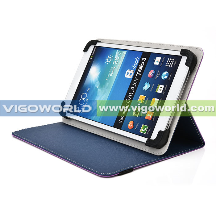 BULK STOCK! Reversible universal 9-10 inch tablet stand leather case universal tablet case