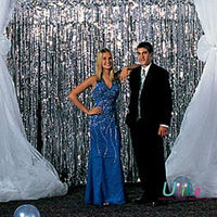 Wedding Foil Curtain Products from Global Metallic Foil Curtain Suppliers and Metallic Foil