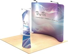 Factory price portable display fabric tension stand.