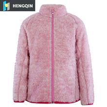 Warm coral fleece kinderen jassen winter outdoor sport jassen