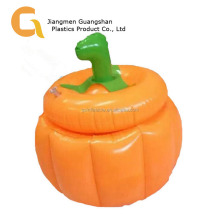 Halloween party ice cooler inflatable ice pumpkin bucket