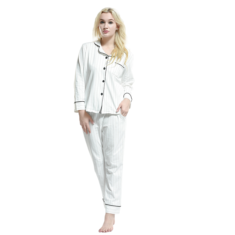 wholesale boutique garment soft touch nightwear summer cotton pajamas set women pyjamas lounge pants suit sexy nighty wear