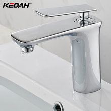 Good Quality Brass Material Hot and Cold Water Tap Single Lever Wash Basin Water Tap