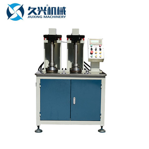 High efficiency vertical hydraulic steel pipe rolling threading machine for cup pot