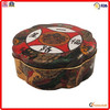 uinique special wholesale customed flower shaped tin gift boxes