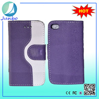 Wholesale 3.5 inch Leather Wallet Universal Phone Cases For iphone 4s