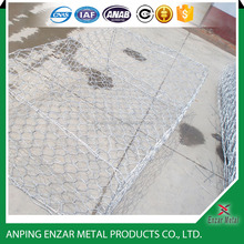 60*80 mm retaining wall gabion wire mesh