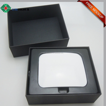 high quality electronic use black router packaging boxes
