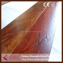 Hand scraped low price elm engineered wood flooring