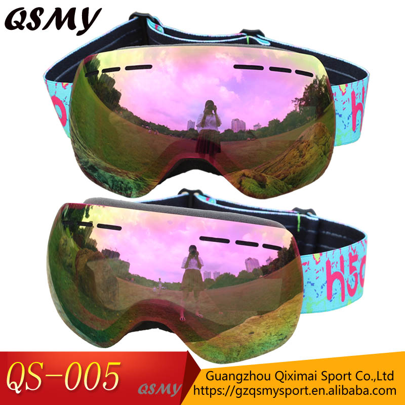 Hot sale factory price sports eyewear goggles snowboard winter sport equipment ski