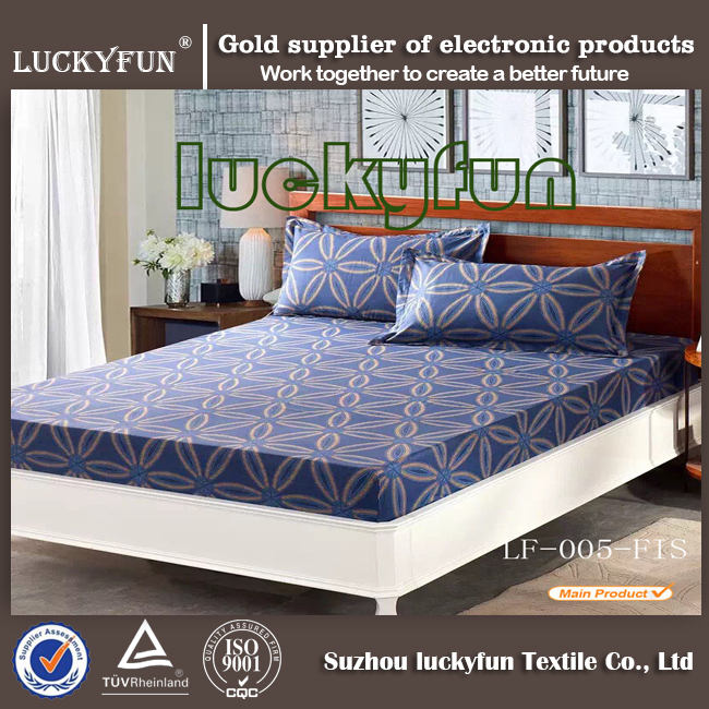 printed bedding sets 100% cotton manufacturer cotton printed bedsheet